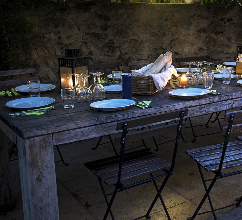 Una cena in terrazza - Mamamediterraneum